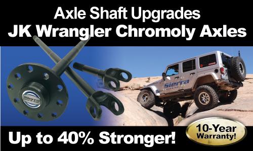 JK Axle Shafts | Sierra Gear & Axle - Sierra Gear & Axle Online